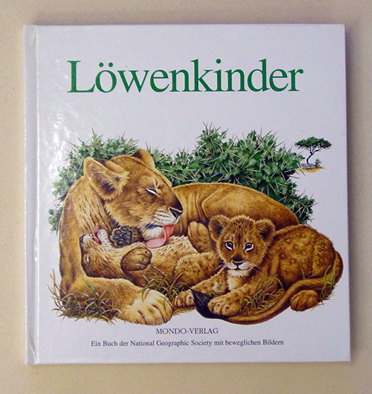Löwenkinder. (Pop-up)